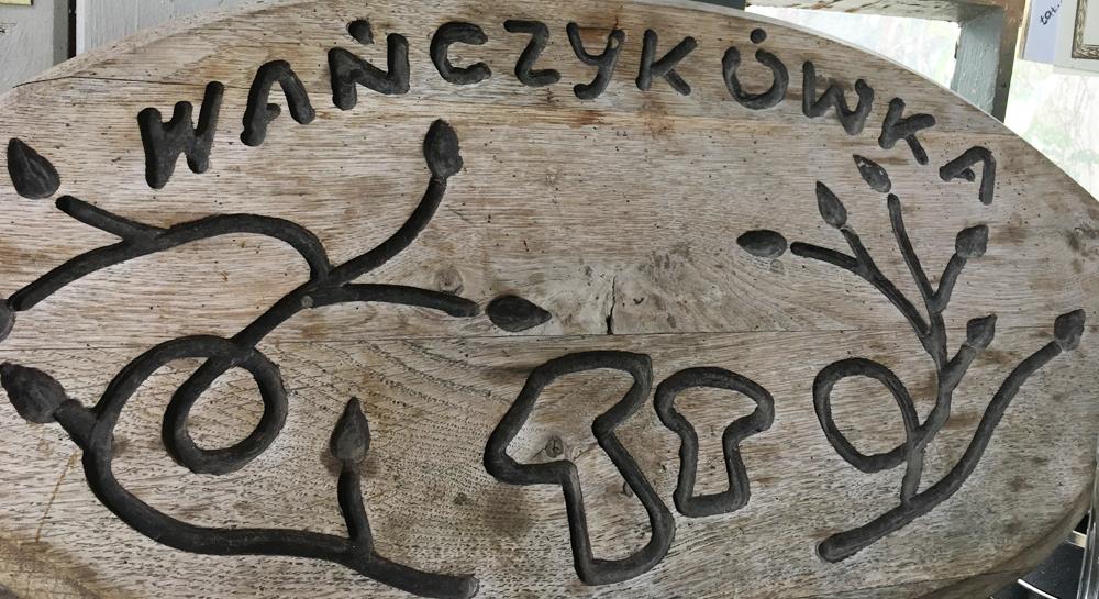 Wańczykówka - tablica